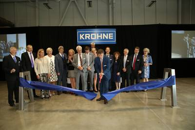 Krohne Officially Opens New Manufacturing Facility And North America